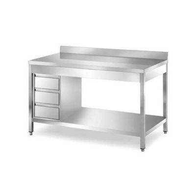 Radni stol okomite 3 ladice TA700LAD