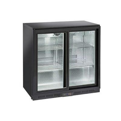 Hladnjak Back bar BBC208S klizna vrata (V. 90 cm)