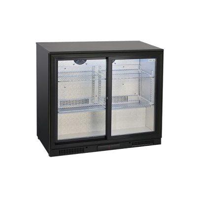 Hladnjak Back bar BBC286S klizna vrata (V. 86 cm)