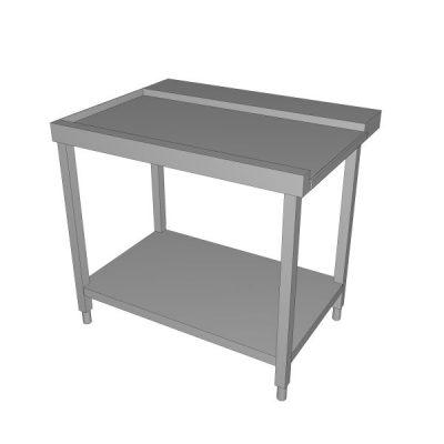 Izlazni stol za perilicu s donjom policom